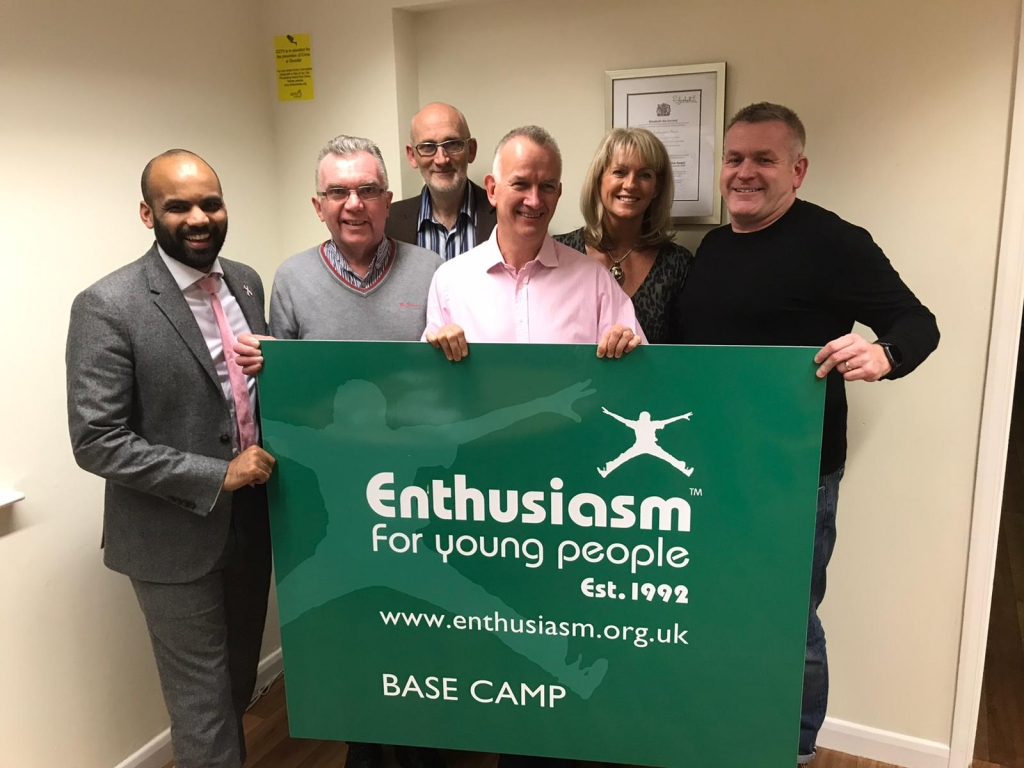 The Enthusiasm Trust Board of Trustees - Joe Russo, Joseph Russo, Allenton, Alvaston